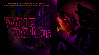 """Fables Telltale Logo"" by http://www.telltalegames.com/thewolfamongus/. Licensed under Fair use of copyrighted material in the context of The Wolf Among Us via Wikipedia - http://en.wikipedia.org/wiki/File:Fables_Telltale_Logo.png#mediaviewer/File:Fables_Telltale_Logo.png"