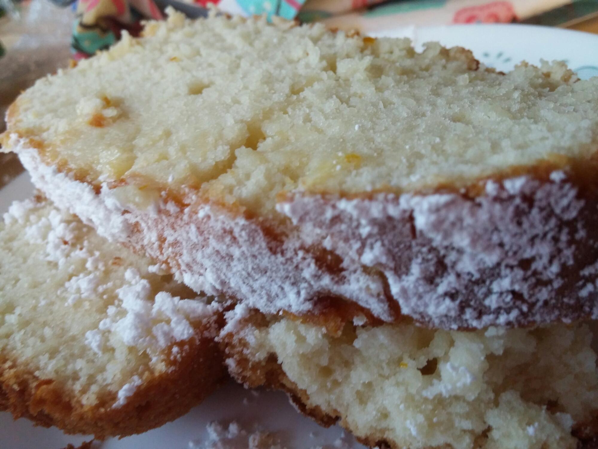 Lemon Drizzle Pound Cake