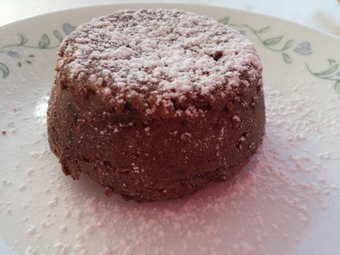 Brownie Mix Lava Cake Recipe